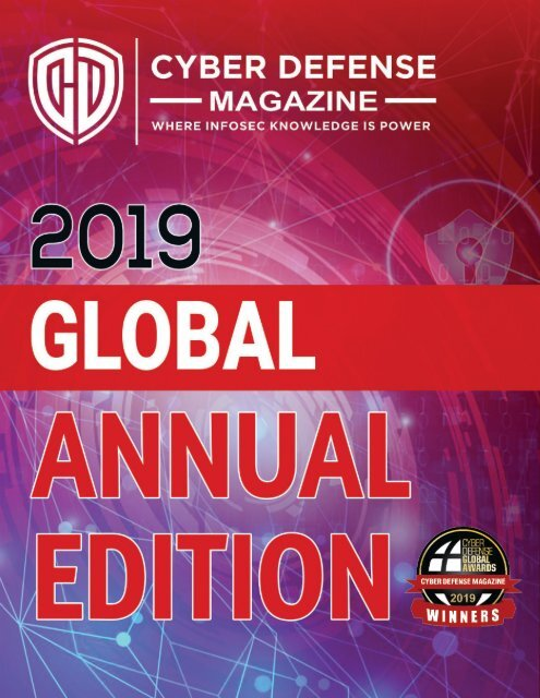 Cyber Defense Magazine Global Edition for 2019