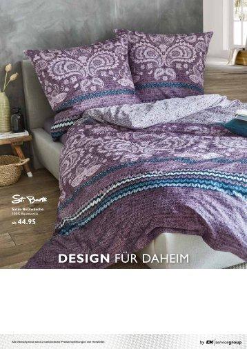 """P219_958 3925 Heimtextil Prospekt """"Design für Daheim"""" Herbst 2019"""