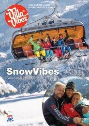 VillaVibes Wintersportreizen Brochure (seizoen 2019/2020)