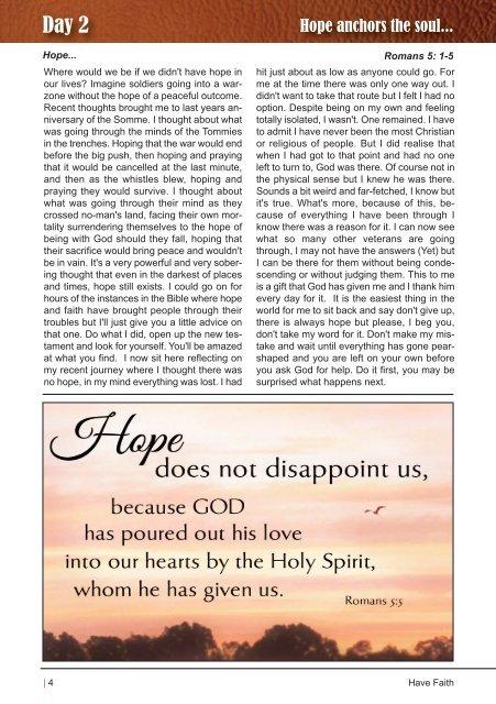 Have Faith - October Edition