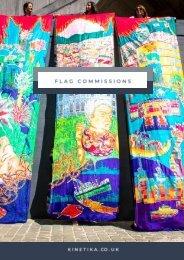 Commission Silk Flags from Kinetika_issuu