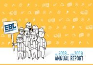 European Builders Confederation - Annual report 2018-2019