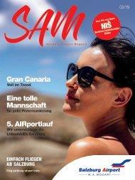 Salzburg Airport Magazin SAM 02-2019