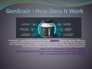 GenBrain - Brain Management Booster