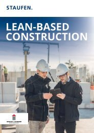 Lean-Based Construction: Krieger+Schramm a Success Story by Staufen AG