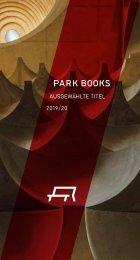Flyer Ausgewählte Titel 2019/20 Park Books