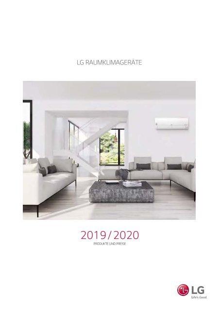 LG Big Capacity UJ36 9,5 kW Klimaanlage Inverter Klimagerät Wärmepumpe