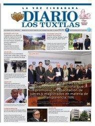 Edición de Diario Los Tuxtlas del día 09 de octubre de 2019