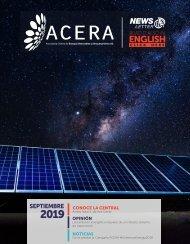Newsletter ACERA - Septiembre 2019