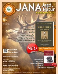 JANA Jagd + Natur Brunftmond 2019