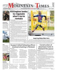 The Mountain Times - Volume 48, Number 41: Oct. 9-15, 2019