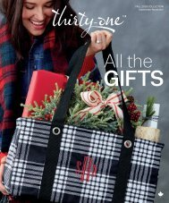 Thirty-One Gifts Fall Catalogue 2019