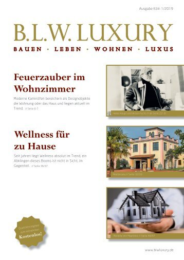 B.L.W. Luxury 1. Ausgabe_1 ePaper