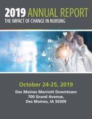 2019 Iowa Nurses Association Annual Report