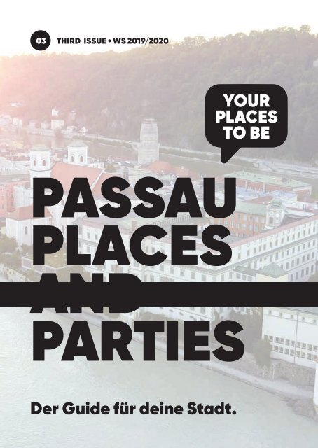 Passau Places and Parties - Issue 3