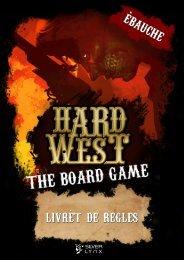 Hard West ⏤ Rulebook Draft [FR]