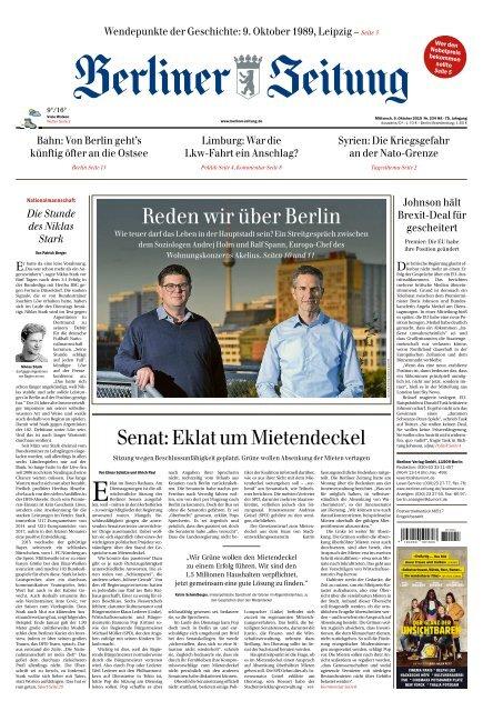 Berliner Zeitung 09.10.2019