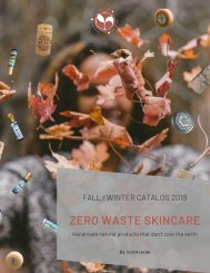 Scentcerae Fall/Winter Catalog 2019
