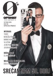Optimist magazin #050 (oktobar 2019)