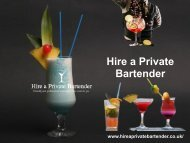 Cocktail Classes Hen Party | Hireaprivatebartender.co.uk