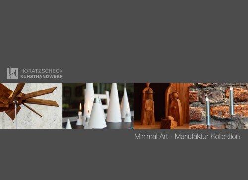Katalog Minimal Art 2019