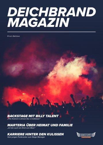 DEICHBRAND Magazin| First Edition
