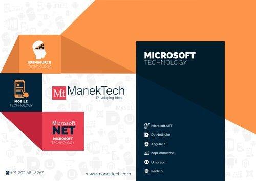 Asp.net Web Application Development Services | ManekTech