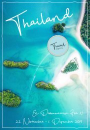 TravelBeats Thailand, En Drømmereise for 2 - November 2019