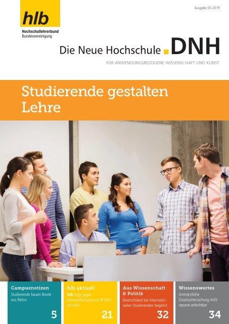 Die Neue Hochschule Heft 5/2019