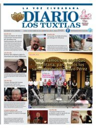 Edición de Diario Los Tuxtlas del día 10 de octubre de 2019