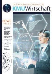 KMU Wirtschaft Ausgabe Oktober 2019