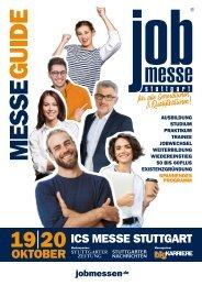 Der MesseGuide zur  7. jobmesse stuttgart 2019