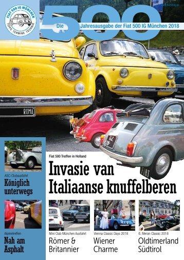 Fiat 500 IG München Jahresheft 2018