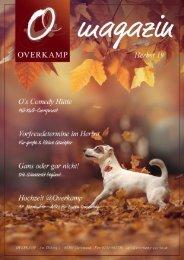 Overkamp Magazin Herbst 2019