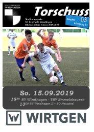 SV Windhagen - TSV Emmelshausen 0:1