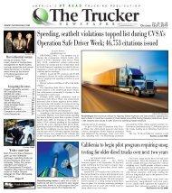 The Trucker Newspaper - October, 15 2019