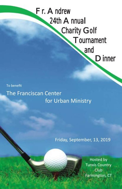 24th Annual Fr. Andrew Charity Golf Tournament