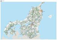 Region Nordjylland | Oversigtskort | Kortet er gældende fra 11/8-19 | NordjyllandsTrafikselskab