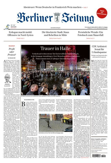 Berliner Zeitung 10.10.2019