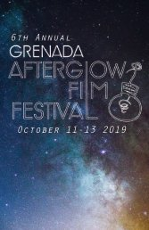 Grenada Afterglow Film Festival 2019