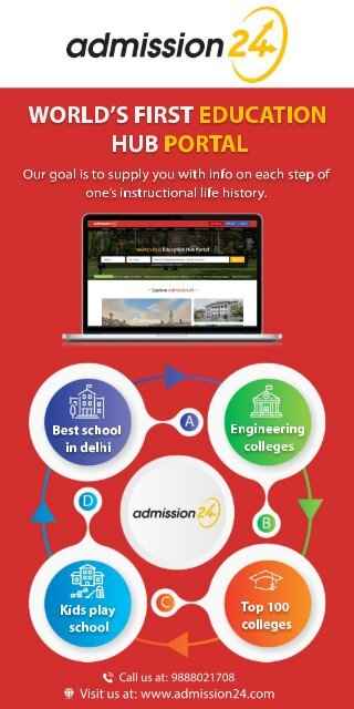 Infographic Admission24 October 2019