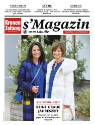 s'Magazin usm Ländle, 13. Oktober 2019