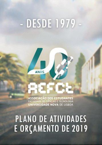 Plano de Atividades AEFCT 2019