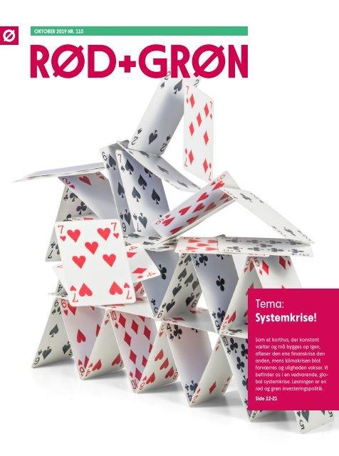 Rød+Grøn oktober 2019: Systemkrise!