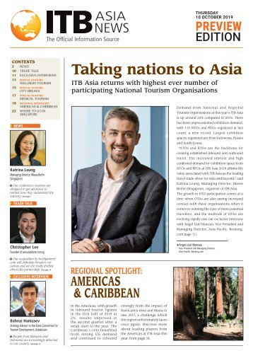 ITB Asia News 2019 Preview Edition