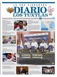 Edición de Diario Los Tuxtlas del día 11 de octubre de 2019