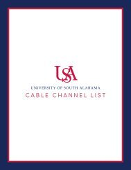 USA Cable Channel List