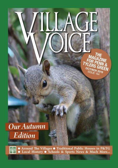 Village Voice Oct / Nov 2019 Issue 194