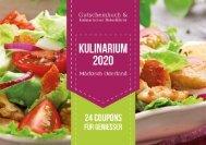 Gutscheinbuch Kulinarium 2020