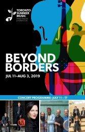 2019 House Programme 1 (July 11-17, 2019)